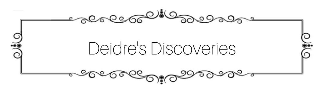 Deidre's Discoveries - Banner